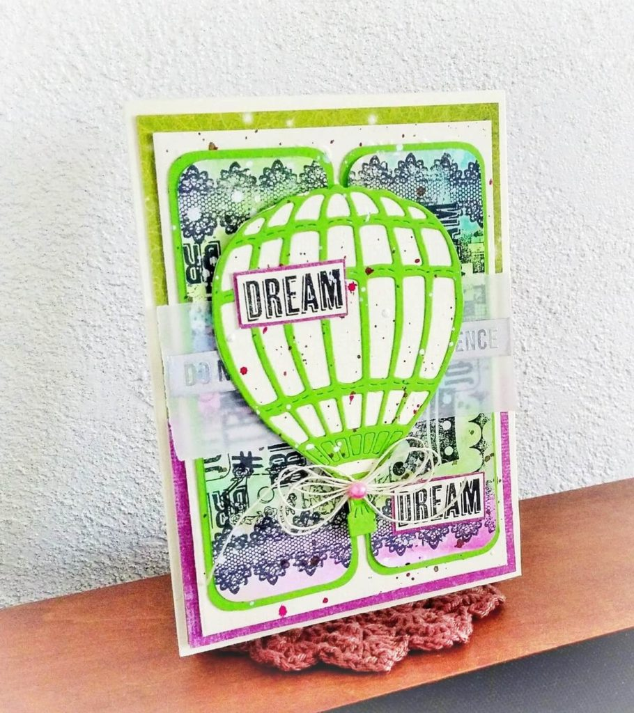 kartka z balonem nagroda w link party