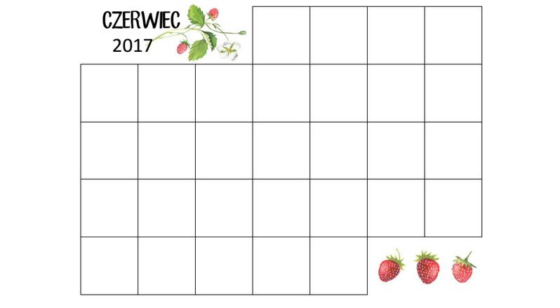 kalendarz wzór