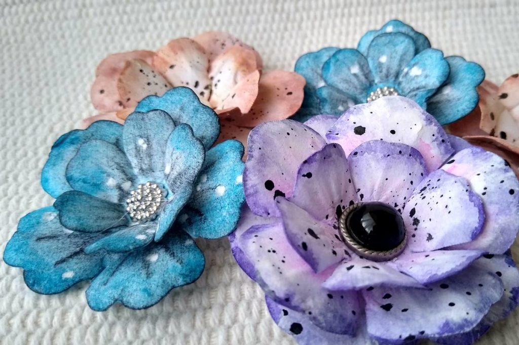kwiatki shabby