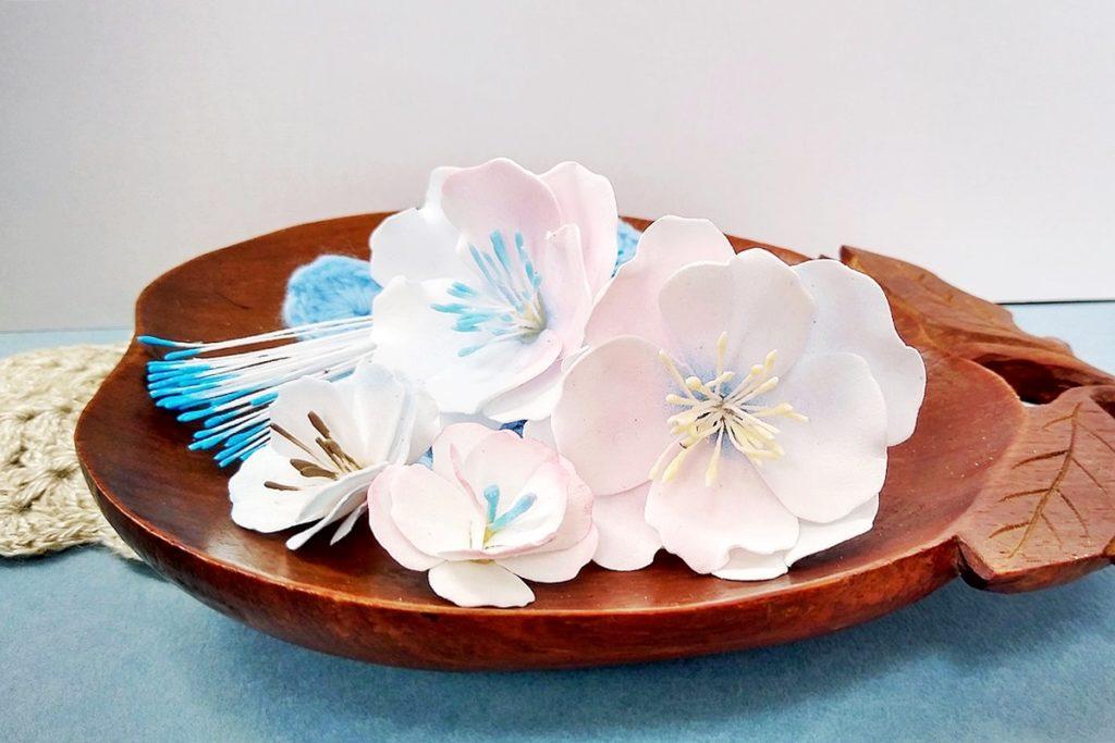 preciki w kwiatkach