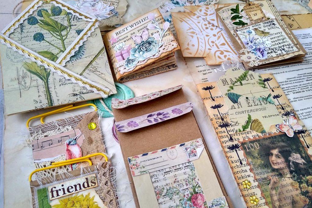embellishments junk journal
