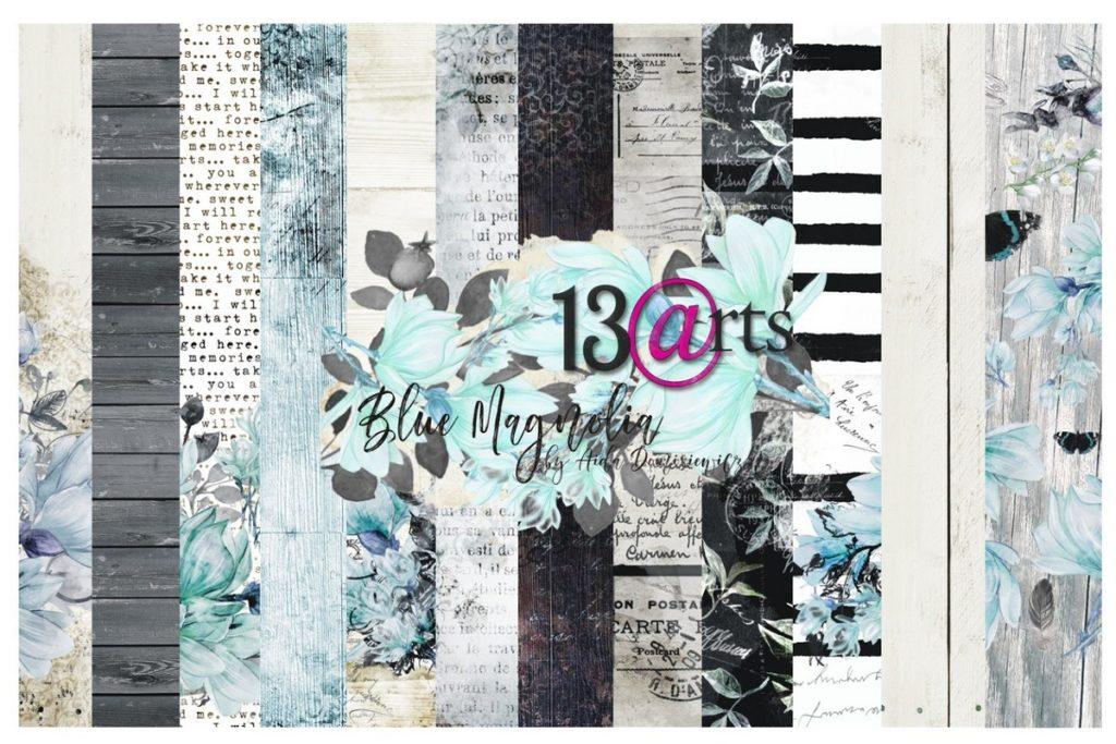 zestaw papierów blue magnolia kurs online