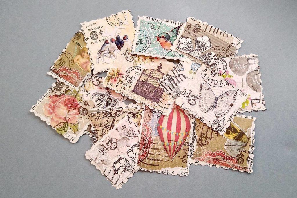 Faux stamps czyli znaczki