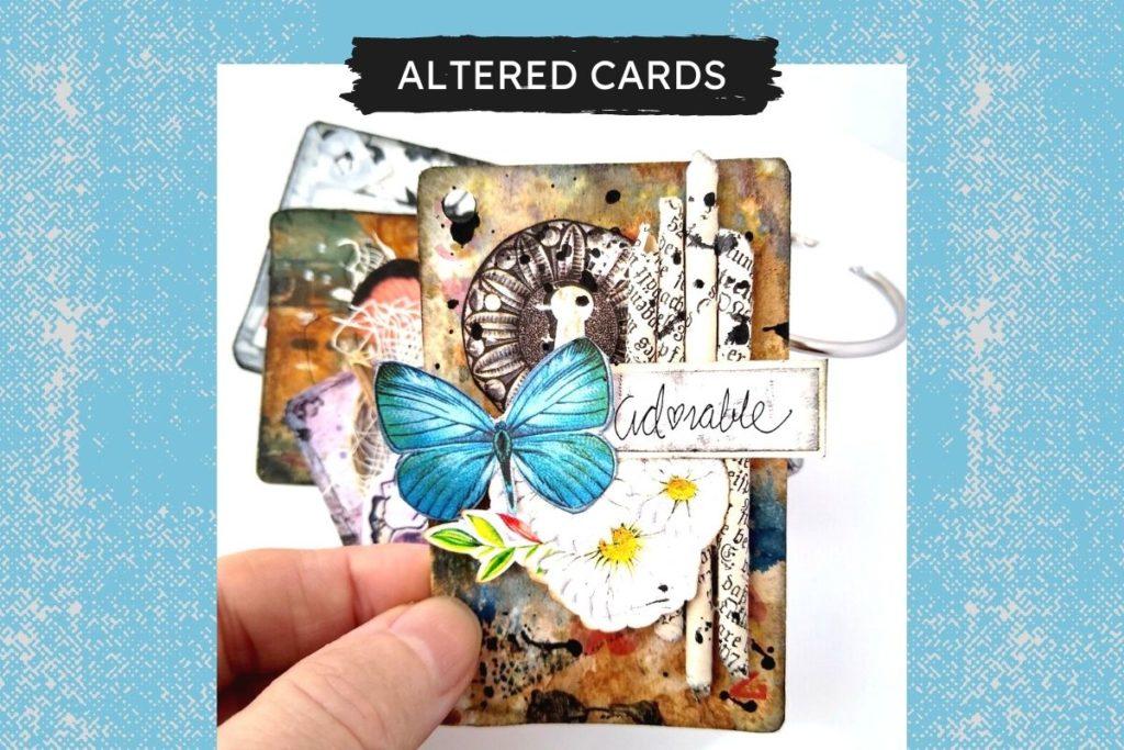 karty do gry alterowane