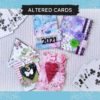 karty alterowane mixedmedia